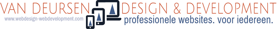 Logo Van Deursen design & Development